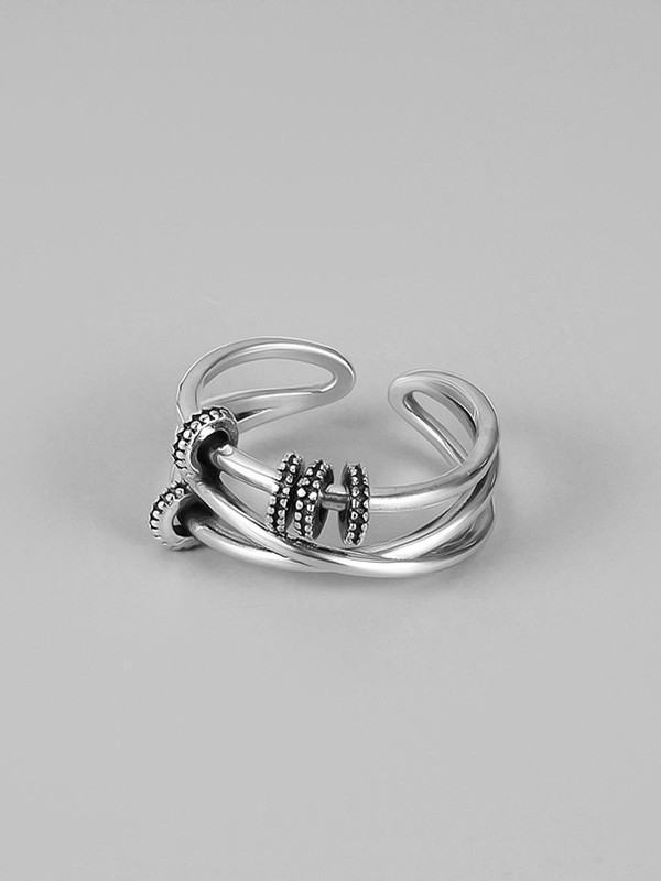 Classic 925 Sterling Silver Hot Sale Adjustable Rings