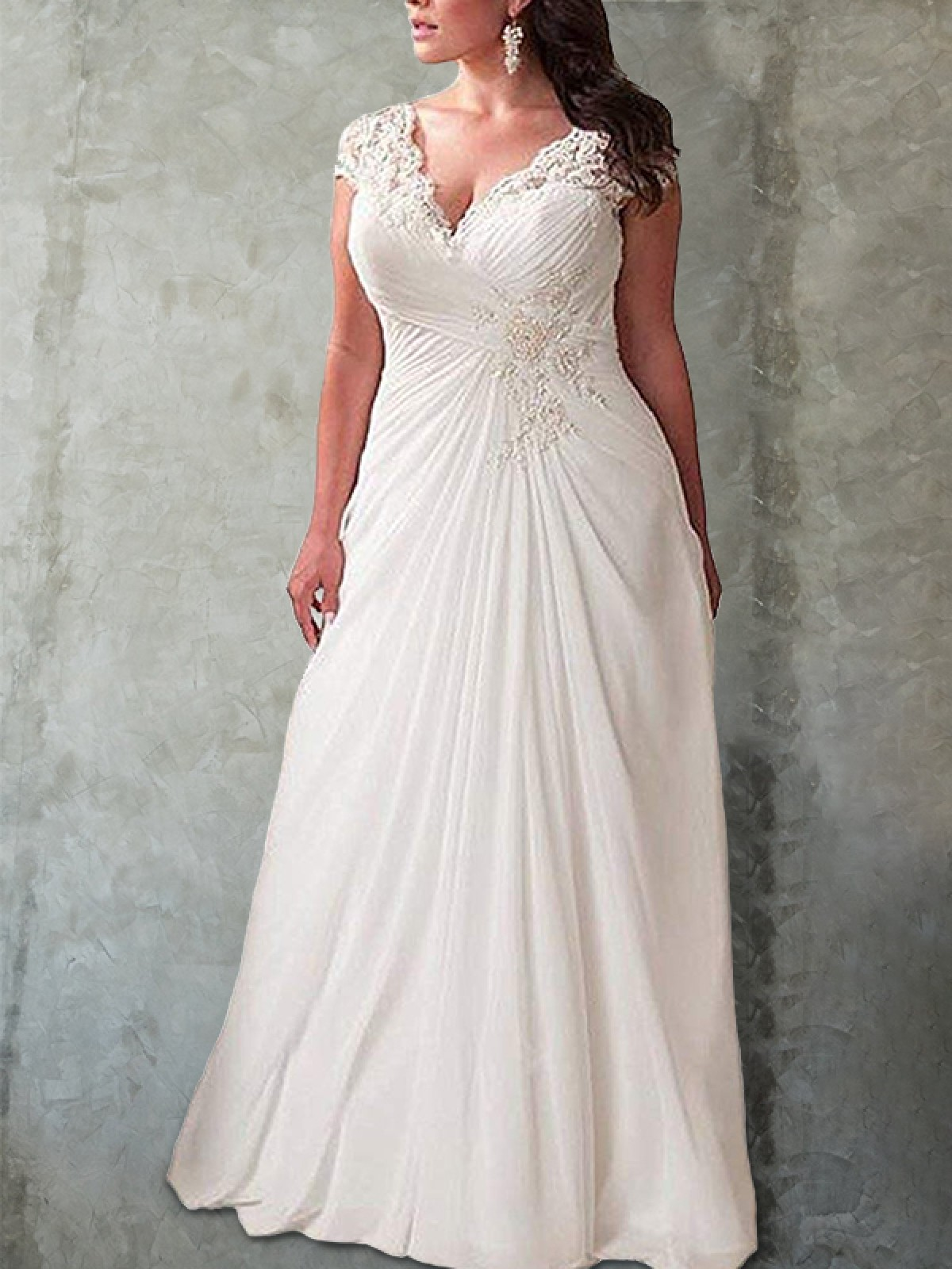 Plus Size Wedding Dresses, Chic Wedding Dresses Plus Size ...