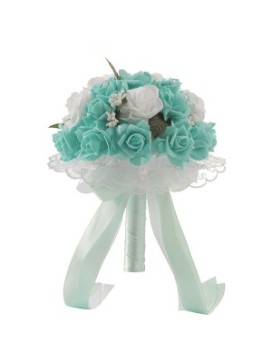 Pretty Round PE Bridal Bouquets