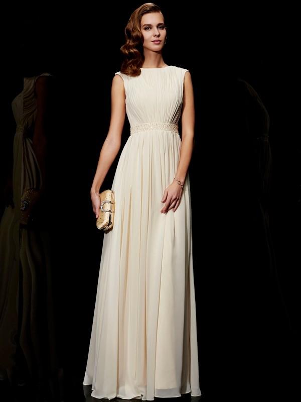 Dashing Darling Princess Style Jewel Beading Long Chiffon Dresses