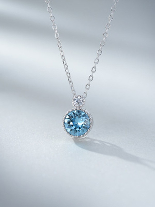 Ladies's Fashion 925 Sterling Silver Necklaces
