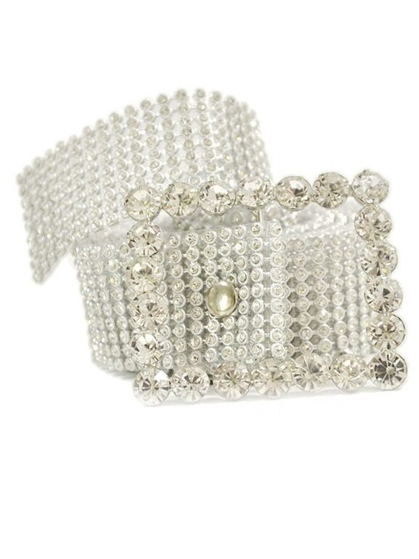 Luxurious Alloy Sashes With Rhinestones