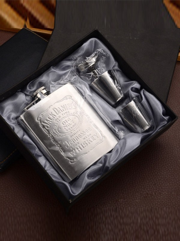 Groomsmen Gifts-Elegant Stainless Steel Flask