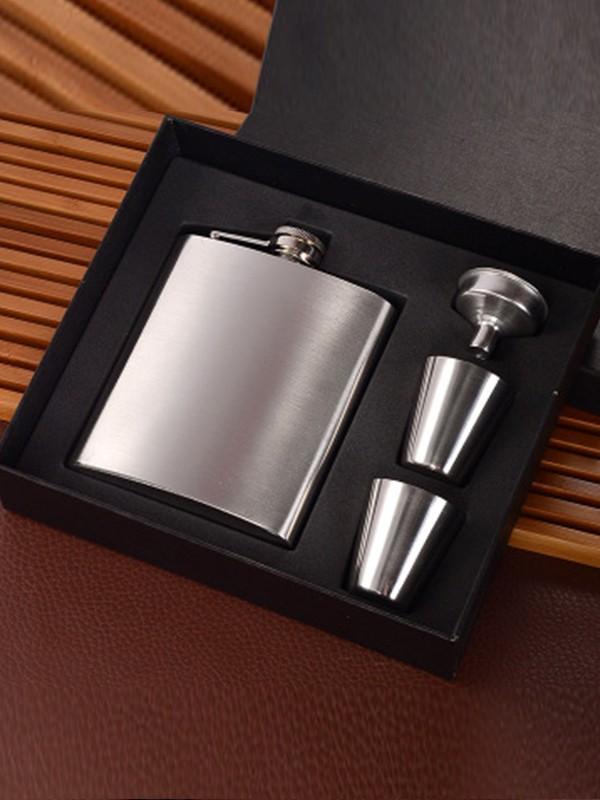 Groomsmen Gifts-Pretty Stainless Steel Flask