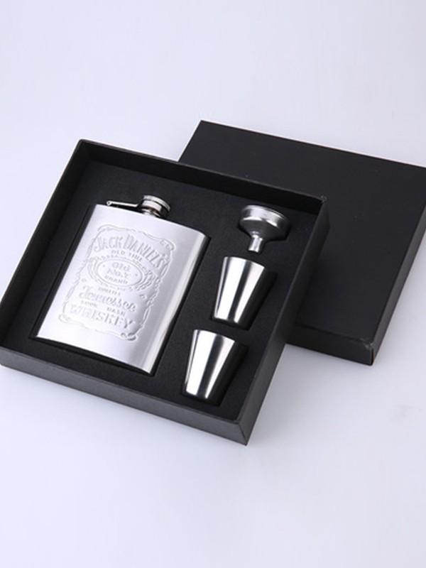 Groomsmen Gifts-Fancy Stainless Steel Flask