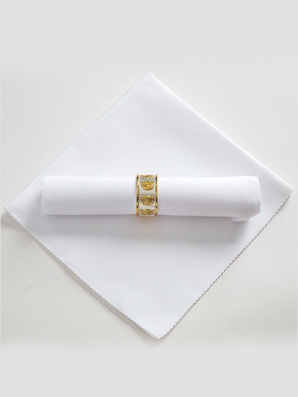 Simple Polyester Napkins(10 Pieces)