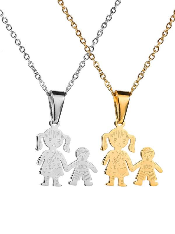 Unique Titanium Hot Sale Necklaces For Mother