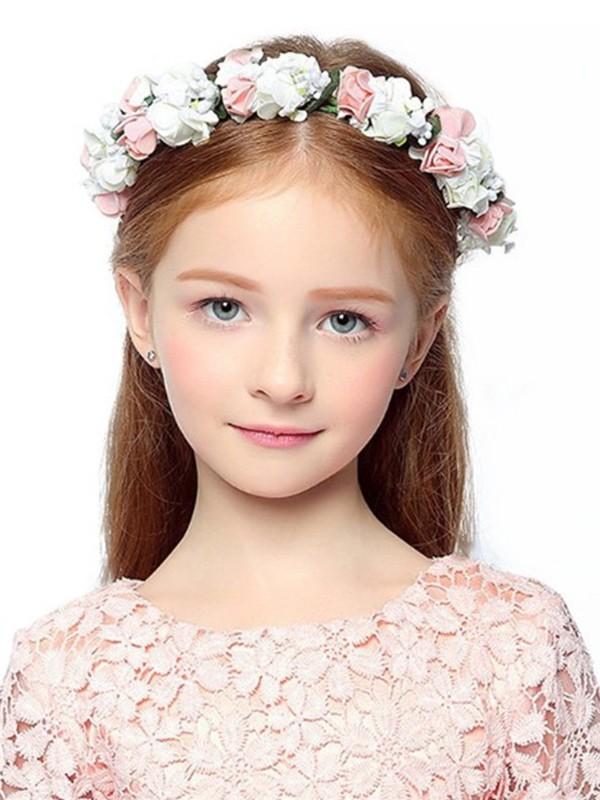 Gorgeous Plastic With Flower Flower Headbands