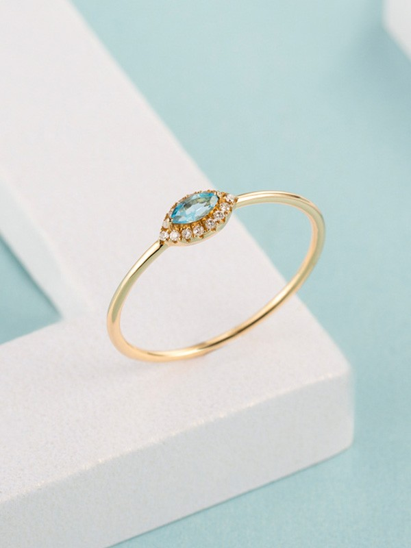 Pretty 925 Sterling Silver With Crystal Hot Sale Rings