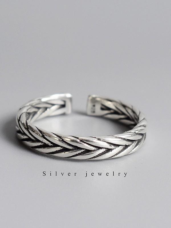 Vintage 925 Sterling Silver Hot Sale Adjustable Rings