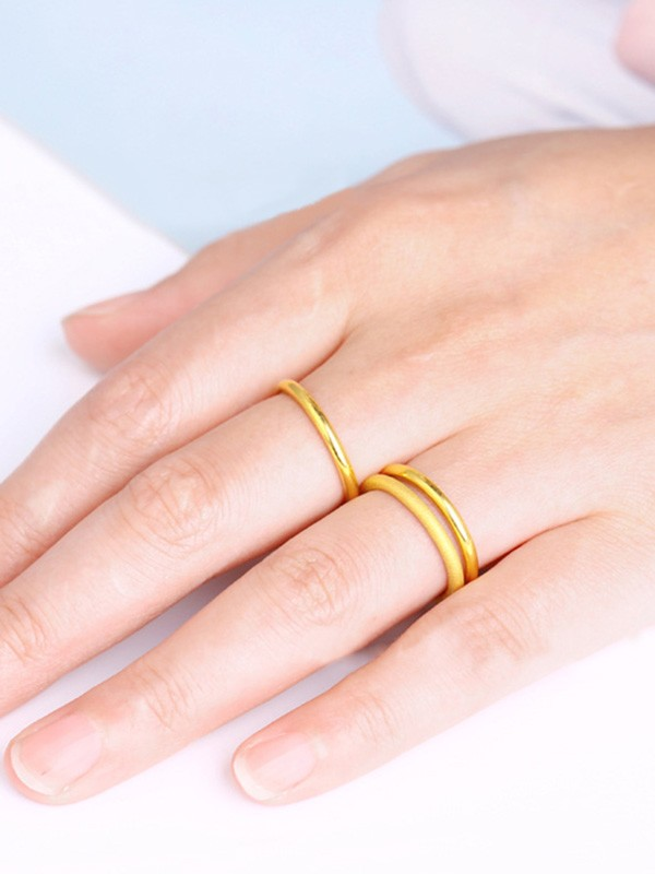 Chic Gold Hot Sale Rings