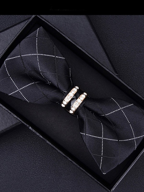 Classic Style Polyester Bow Tie
