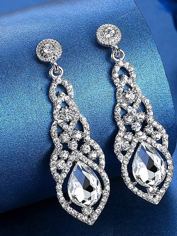 Ladies's Luxurious Crystal Hot Sale Earrings