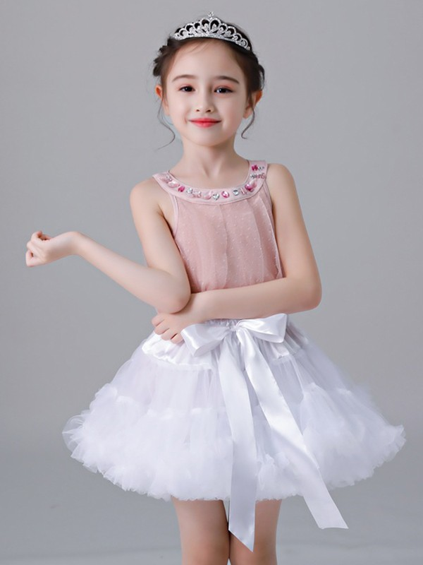 Cute Tulle With Bowknot Petticoats