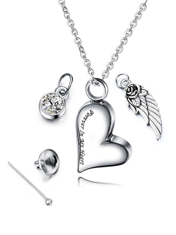Attractive Titanium With Love Hot Sale Necklaces
