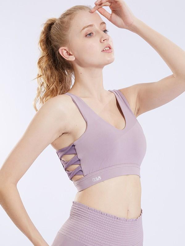 Elegant Nylon Yoga Bras
