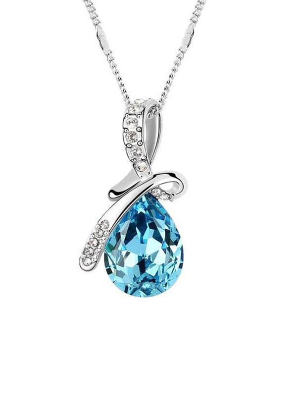 Fancy Alloy With Crystal Hot Sale Necklaces
