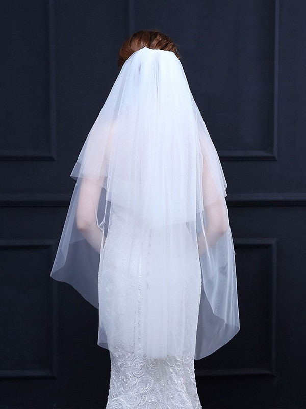 Pretty 2 Layer Tulle Wedding Veils