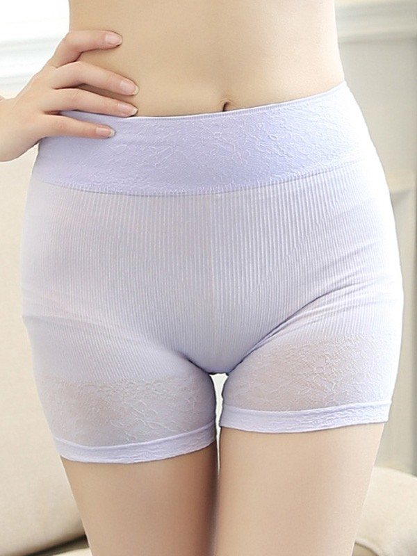 Soft Women's Nylon Seamless Elastic Safety Pants/Safety Shorts