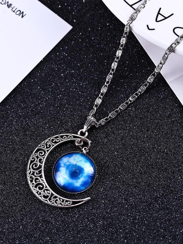 Unique Alloy With Moon Hot Sale Necklaces